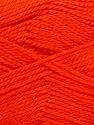 Fiber Content 100% Acrylic, Orange, Brand ICE, Yarn Thickness 2 Fine  Sport, Baby, fnt2-39925