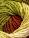 Fiber Content 70% Acrylic, 30% Merino Wool, Brand Ice Yarns, Green Shades, Copper, Brown, Yarn Thickness 5 Bulky  Chunky, Craft, Rug, fnt2-39959