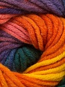 Fiber Content 70% Acrylic, 30% Merino Wool, Rainbow, Brand Ice Yarns, Yarn Thickness 5 Bulky  Chunky, Craft, Rug, fnt2-39966