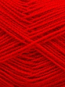 Fiber Content 100% Acrylic, Red, Brand Ice Yarns, Yarn Thickness 1 SuperFine  Sock, Fingering, Baby, fnt2-40063