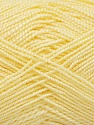 Fiber Content 100% Acrylic, Light Yellow, Brand Ice Yarns, Yarn Thickness 1 SuperFine  Sock, Fingering, Baby, fnt2-40068