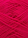 Fiber Content 100% Acrylic, Brand Ice Yarns, Dark Fuchsia, Yarn Thickness 1 SuperFine  Sock, Fingering, Baby, fnt2-40081
