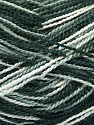 Fiber Content 100% Acrylic, White, Brand Ice Yarns, Grey, Black, Yarn Thickness 1 SuperFine  Sock, Fingering, Baby, fnt2-40086