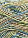 Fiber Content 100% Acrylic, Light Green Salmon, Brand Ice Yarns, Blue, Yarn Thickness 1 SuperFine  Sock, Fingering, Baby, fnt2-40089