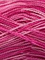 Fiber Content 100% Acrylic, Pink Shades, Brand ICE, Yarn Thickness 1 SuperFine  Sock, Fingering, Baby, fnt2-40090