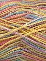 Fiber Content 100% Acrylic, Pastel Rainbow, Brand ICE, Yarn Thickness 1 SuperFine  Sock, Fingering, Baby, fnt2-40091