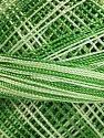 Fiber Content 100% Micro Fiber, Brand Ice Yarns, Green Shades, Yarn Thickness 0 Lace  Fingering Crochet Thread, fnt2-40204