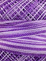 Fiber Content 100% Micro Fiber, Lilac Shades, Brand Ice Yarns, Yarn Thickness 0 Lace  Fingering Crochet Thread, fnt2-40210