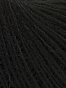 Fiber Content 55% Acrylic, 25% Alpaca, 20% Wool, Brand Ice Yarns, Black, Yarn Thickness 2 Fine  Sport, Baby, fnt2-40806