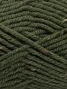 Fiber Content 72% Acrylic, 3% Viscose, 25% Wool, Brand Ice Yarns, Dark Khaki, Yarn Thickness 6 SuperBulky  Bulky, Roving, fnt2-40839