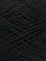 Please note that the yarn weight and the ball length may vary from one color to another for this yarn. Fiber Content 100% Cotton, Brand Ice Yarns, Black, Yarn Thickness 3 Light  DK, Light, Worsted, fnt2-40903