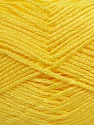 Fiber Content 100% Baby Acrylic, Yellow, Brand Ice Yarns, Yarn Thickness 2 Fine  Sport, Baby, fnt2-41121