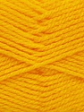 Fiber Content 100% Premium Acrylic, Brand Ice Yarns, Dark Yellow, Yarn Thickness 3 Light  DK, Light, Worsted, fnt2-41225