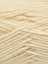 Fiber Content 80% Acrylic, 20% Wool, Ivory, Brand Ice Yarns, Yarn Thickness 4 Medium  Worsted, Afghan, Aran, fnt2-41250