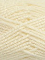 Fiber Content 80% Acrylic, 20% Wool, Brand Ice Yarns, Cream, Yarn Thickness 4 Medium  Worsted, Afghan, Aran, fnt2-41251
