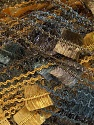 Fiber Content 100% Polyamide, Brand Ice Yarns, Grey, Gold, Brown, Yarn Thickness 5 Bulky  Chunky, Craft, Rug, fnt2-41310