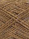 Fiber Content 36% Acrylic, 19% Metallic Lurex, 16% Wool, 16% Alpaca, 13% Viscose, Brand ICE, Gold, Camel, Yarn Thickness 3 Light  DK, Light, Worsted, fnt2-41415