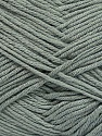 Fiber Content 50% Bamboo, 50% Cotton, Brand Ice Yarns, Grey, Yarn Thickness 2 Fine  Sport, Baby, fnt2-41438