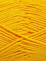 Fiber Content 50% Bamboo, 50% Cotton, Yellow, Brand Ice Yarns, Yarn Thickness 2 Fine  Sport, Baby, fnt2-41444