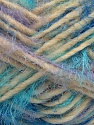 Fiber Content 40% Polyamide, 30% Merino Wool, 15% Acrylic, 15% Alpaca, Turquoise, Lilac, Brand Ice Yarns, Cream, Blue, Yarn Thickness 5 Bulky  Chunky, Craft, Rug, fnt2-42053