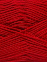 Fiber Content 50% Bamboo, 50% Cotton, Red, Brand Ice Yarns, Yarn Thickness 2 Fine  Sport, Baby, fnt2-42214
