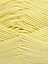 Fiber Content 50% Bamboo, 50% Cotton, Brand Ice Yarns, Baby Yellow, Yarn Thickness 2 Fine  Sport, Baby, fnt2-42216