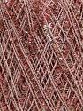 Fiber Content 75% Polyester, 25% Metallic Lurex, Pink, Brand Ice Yarns, fnt2-42229