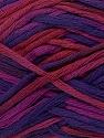 Fiber Content 100% Cotton, Purple, Brand Ice Yarns, Fuchsia, Burgundy, Yarn Thickness 3 Light  DK, Light, Worsted, fnt2-42279