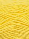Fiber Content 100% Micro Acrylic, Yellow, Brand Ice Yarns, Yarn Thickness 3 Light  DK, Light, Worsted, fnt2-42290