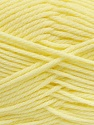 Fiber Content 50% Polyamide, 50% Acrylic, Brand Ice Yarns, Baby Yellow, Yarn Thickness 3 Light  DK, Light, Worsted, fnt2-42389