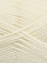 Fiber Content 50% Acrylic, 30% Wool, 20% Polyamide, Off White, Brand Ice Yarns, Yarn Thickness 2 Fine  Sport, Baby, fnt2-42415