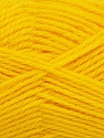 Fiber Content 50% Acrylic, 30% Wool, 20% Polyamide, Yellow, Brand Ice Yarns, Yarn Thickness 2 Fine  Sport, Baby, fnt2-42418