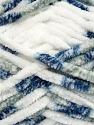 Fiber Content 100% Micro Fiber, White, Brand Ice Yarns, Grey, Blue, Yarn Thickness 6 SuperBulky  Bulky, Roving, fnt2-42487