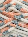Fiber Content 100% Micro Fiber, White, Orange, Brand Ice Yarns, Grey, Yarn Thickness 6 SuperBulky  Bulky, Roving, fnt2-42495