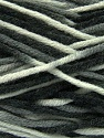 Fiber Content 80% Acrylic, 20% Wool, White, Brand Ice Yarns, Grey, Black, Yarn Thickness 6 SuperBulky  Bulky, Roving, fnt2-42578