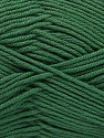 Fiber Content 50% Acrylic, 50% Cotton, Brand Ice Yarns, Green, Yarn Thickness 2 Fine  Sport, Baby, fnt2-42594