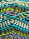 Fiber Content 100% AntiBacterial Micro Dralon, Turquoise, Lilac, Brand Ice Yarns, Grey, Green Shades, Yarn Thickness 2 Fine  Sport, Baby, fnt2-42649