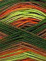 Fiber Content 100% AntiBacterial Micro Dralon, Orange, Brand Ice Yarns, Green Shades, Brown, Yarn Thickness 2 Fine  Sport, Baby, fnt2-42663