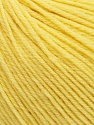 SUPERWASH WOOL is a DK weight 100% superwash wool yarn. Perfect stitch definition, and a soft-but-sturdy finished fabric. Projects knit and crocheted in SUPERWASH WOOL are machine washable! Lay flat to dry. Fiber Content 100% Superwash Wool, Yellow, Brand Ice Yarns, Yarn Thickness 3 Light  DK, Light, Worsted, fnt2-42935