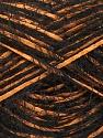 Fiber Content 50% Polyamide, 35% Acrylic, 15% Viscose, Orange, Brand Ice Yarns, Black, Yarn Thickness 4 Medium  Worsted, Afghan, Aran, fnt2-43015