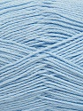 Fiber Content 50% Viscose, 50% Bamboo, Light Indigo Blue, Brand Ice Yarns, Yarn Thickness 2 Fine  Sport, Baby, fnt2-43038
