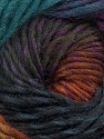 Fiber Content 100% Wool, Teal, Purple, Brand Ice Yarns, Brown, Black, Yarn Thickness 4 Medium  Worsted, Afghan, Aran, fnt2-43064