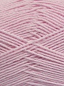 Fiber Content 50% Viscose, 50% Bamboo, Brand Ice Yarns, Baby Pink, Yarn Thickness 2 Fine  Sport, Baby, fnt2-43136