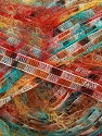 Fiber Content 100% Polyamide, Turquoise, Red, Brand Ice Yarns, Cream, Brown, fnt2-43150