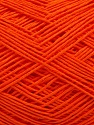 Fiber Content 100% Cotton, Orange, Brand Ice Yarns, Yarn Thickness 2 Fine  Sport, Baby, fnt2-43159