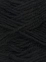 Fiber Content 70% Acrylic, 30% Wool, Brand Ice Yarns, Black, Yarn Thickness 2 Fine  Sport, Baby, fnt2-43357