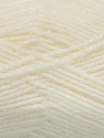 Fiber Content 70% Acrylic, 30% Wool, White, Brand Ice Yarns, Yarn Thickness 2 Fine  Sport, Baby, fnt2-43361