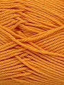 Fiber Content 100% Mercerised Cotton, Orange, Brand Ice Yarns, Yarn Thickness 2 Fine  Sport, Baby, fnt2-43395