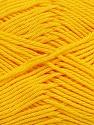 Fiber Content 100% Mercerised Cotton, Yellow, Brand Ice Yarns, Yarn Thickness 2 Fine  Sport, Baby, fnt2-43396