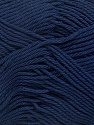 Fiber Content 100% Mercerised Cotton, Navy, Brand Ice Yarns, Yarn Thickness 2 Fine  Sport, Baby, fnt2-43397
